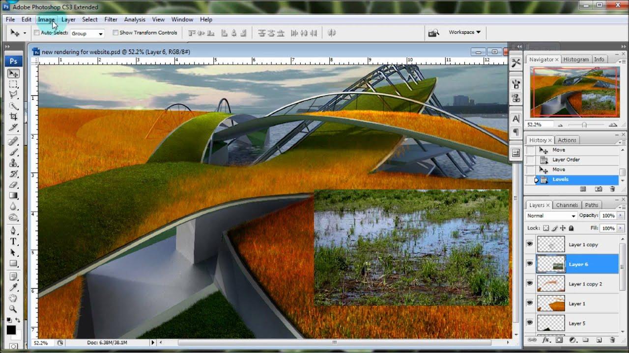 Landscape Photoshop Photoshop Landscape