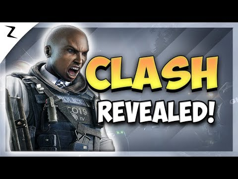 Clash! New Defensive Operator Revealed! - Rainbow Six Siege
