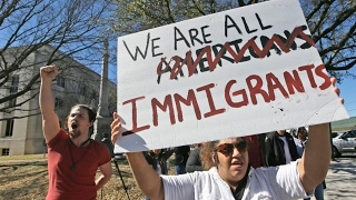 People Walk Off Jobs For The Day Without Immigrants March (REACTION)