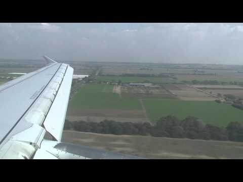 Vueling A320-214 [VY9980] Landing - Rome - Fiumicino [ORY-FCO]
