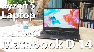 Huawei MateBook D W00D 14 - Ultrabook mit Ryzen 5 im Test - Der perfekte Laptop für Unterwegs?