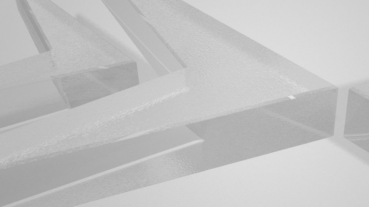 frosted glass material  3d