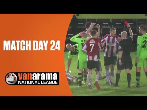 Vanarama National League Highlights Show: Match Day 24 | BT Sport