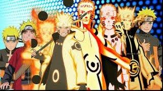 Naruto:Top 20 Strongest MODES! (Six Paths Sage Mode,Tenseigan Mode,Bijuu Mode,Kurama Mode)
