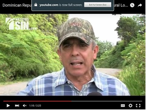Dominican Republic News 2016 | Controversy over projects in rural Loma Quita Espuela