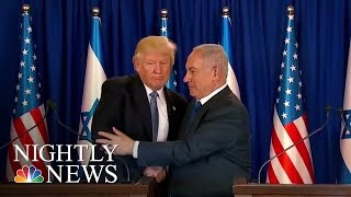 Pres. Donald Trump Shifts On Climate Change, Russia During Trip Abroad | NBC Nightly News