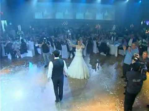 Miyvarxar Shen - Georgian song at an Israeli Wedding - მე შენ მიყვარხარ