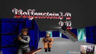 Wolfenstein 3D VR Gameplay