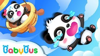 Baby Panda Flies to Zero Castle | Math Kingdom Adventure | BabyBus Cartoon