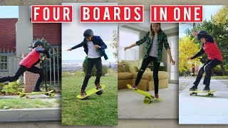 4 boards in 1 | The Morfboard
