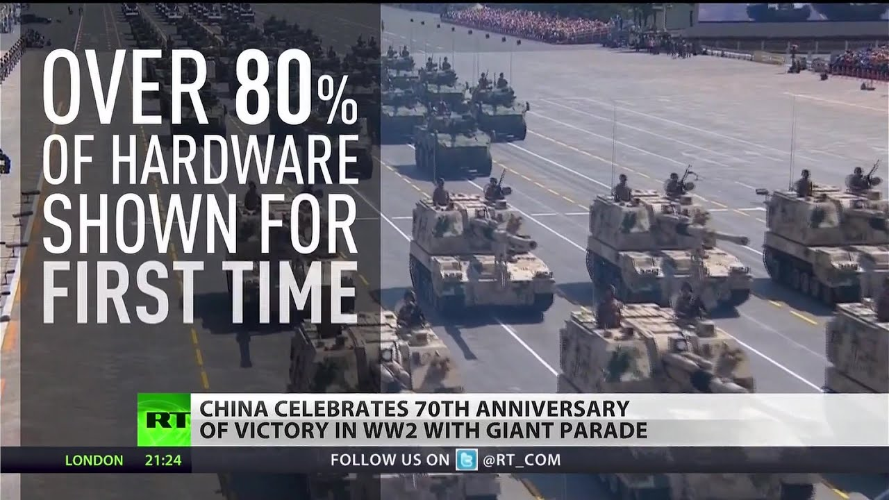 China celebrates 70th anniversary of victory over Japan with massive parade