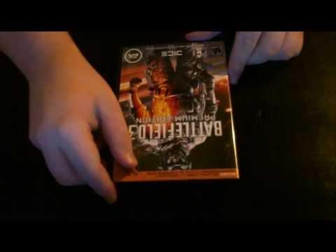 Battlefield 3: Premium Edition Case Contents - PC
