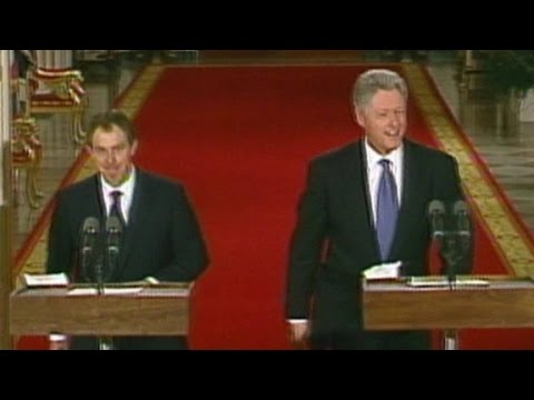 Secret Bill Clinton - Tony Blair tapes released