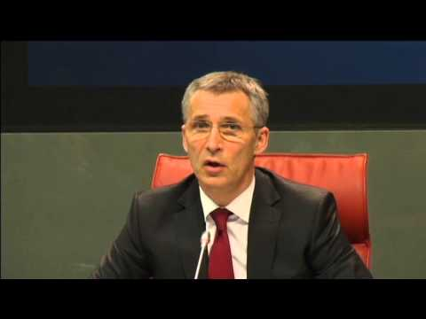 NATO Warns Russia: NATO chief Jens Stoltenberg says Russia has to respect borders