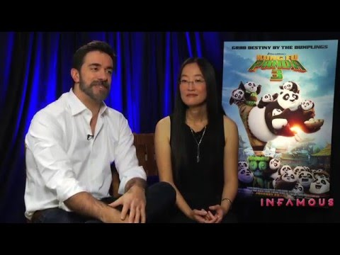 Alessandro Carloni & Jennifer Yuh Nelson Interview - KUNG FU PANDA 3 - This Is Infamous