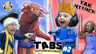 TABS IS BACK!  Granny Helps Us in Totally Accurate Battle Simulator #2 (FGTEEV Duddz & Shawn)