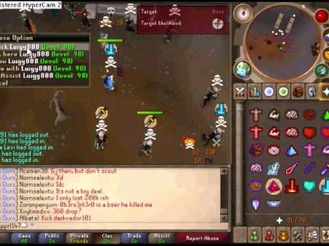 Runescape New Bounty Hunter Poopygirl147 VID 1!!!!!!/15 Mil loot