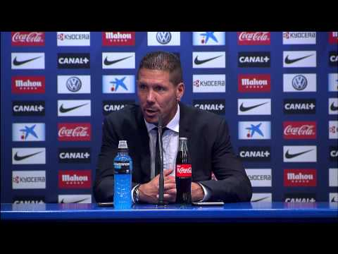 Rueda de prensa de Diego Simeone después del Atlético de Madrid - Real Valladolid