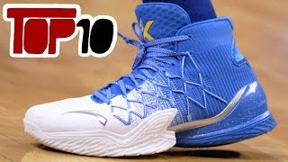 Top 10 Basketball Shoes Of 2018 With The Best Traction