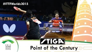 Table Tennis Point of the Century