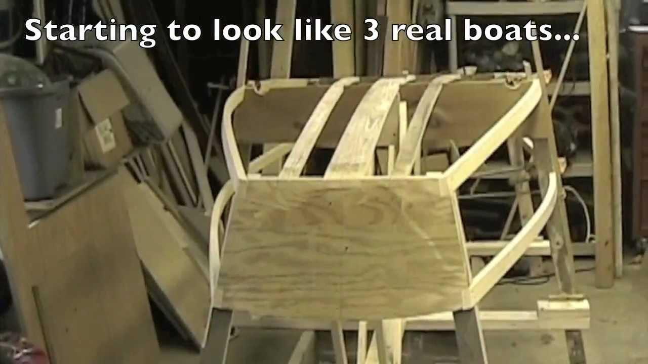 Building a plywood Optimist Pram (dinghy) - Part 4 - YouTube