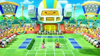 Super Mario Party ( Mini games Toad Cup) Player Luigi vs Yoshi vs Peach vs Wario