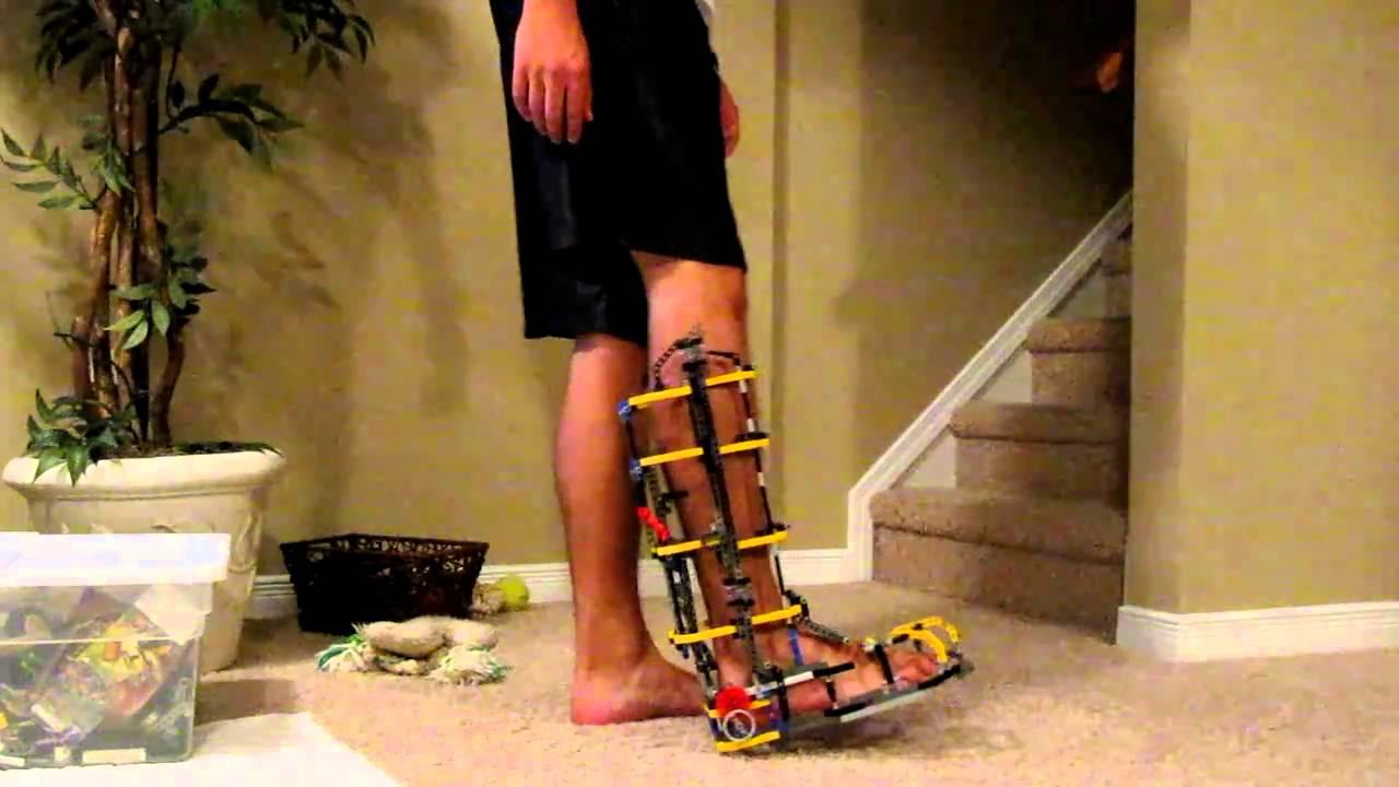 Iron Man Mark III Boot with Lever Design Prototype YouTube