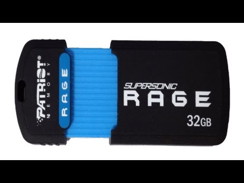 Patriot 32GB Supersonic Rage XT USB 3.0 Flash Drive Review