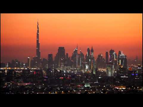 A View Of Dubai At Night - Presented by Hussein Kefel دبي
