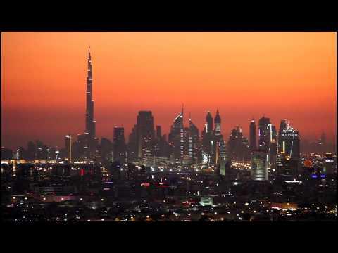 A View Of Dubai At Night دبي