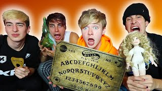 UNBOXING MOST HAUNTED ITEMS IN THE WORLD at 3am!
