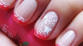 нежный маникюр / gentle manicure (pink french)