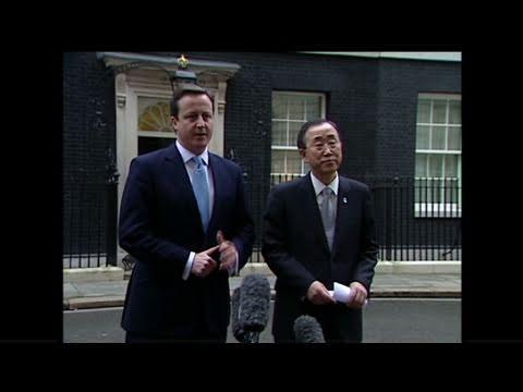 CNN: Cameron, Ban condemn violence in Egypt