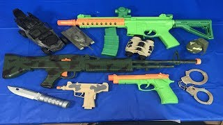 Toy Weapons Box of Toys Toy Guns for Children Military Toys