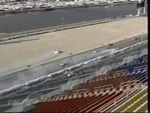 2005 Gatorade Duel 150- Kevin Harvick Violent Wreck