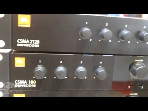 ISE 2015: Harman's JBL Highlights the Commercial Series of Mixers and Amplifiers