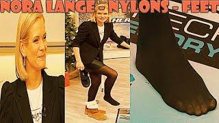 Nora Lange FullHD Nylons Pantyhose Feet Collant Strumpfhose on QVC Style