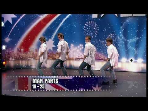 Australia's Got Talent - Man Parts
