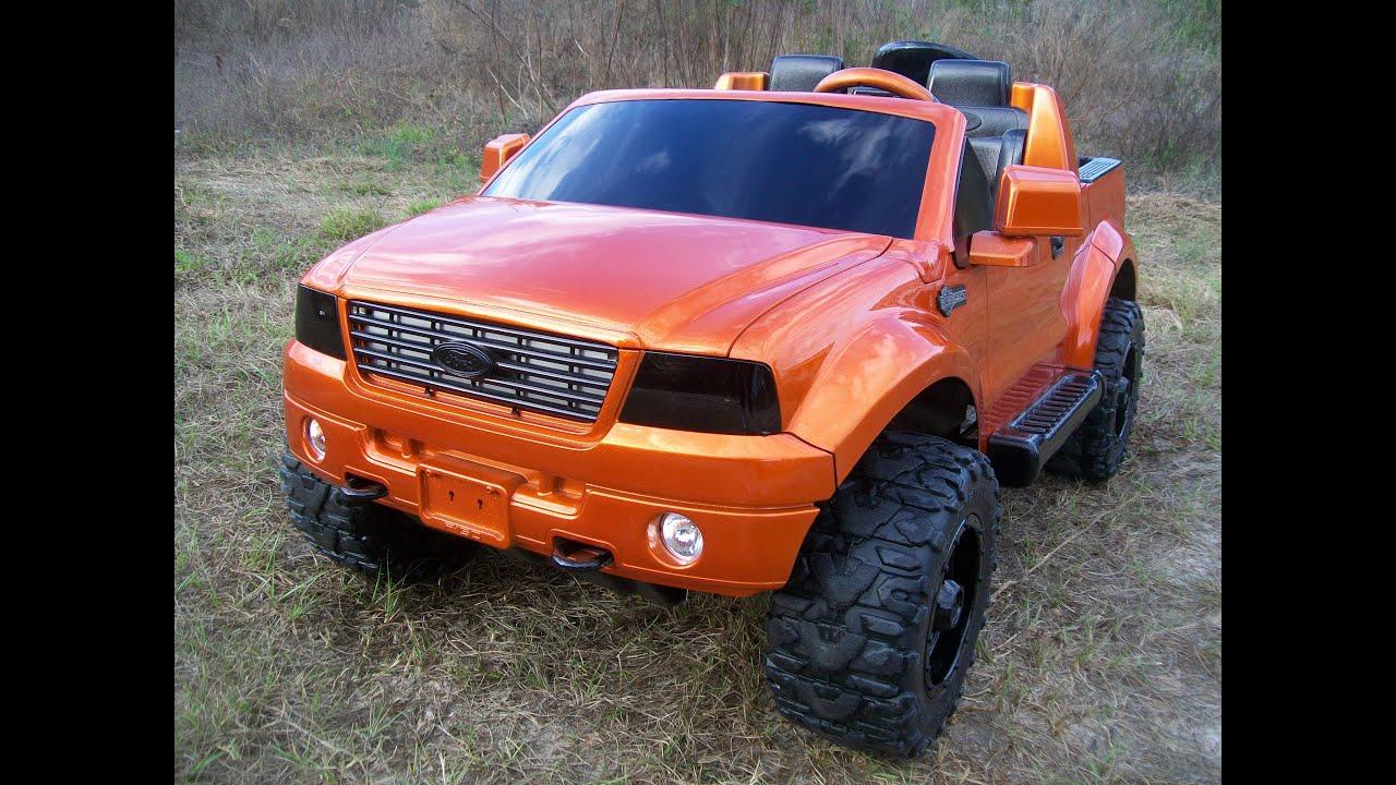 Modified Power Wheels Custom Built Tangelo F150 Part 1