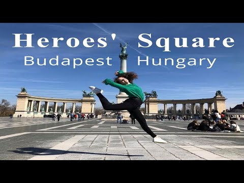 5 minutes of Heroes' Square and places to visit in Budapest Hungary