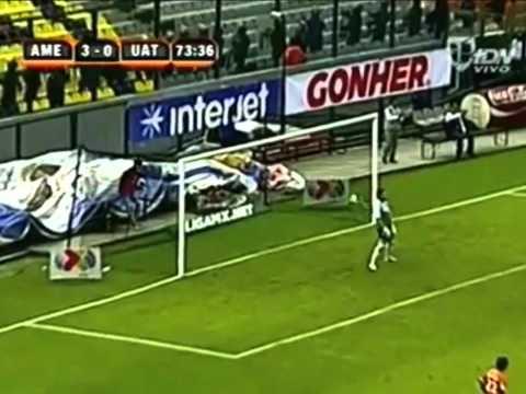 AMERICA VS CORRECAMINOS,6-0 COPA MX 2012