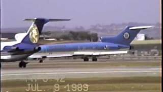 Aviateca Boeing 727-25C Arriving & Departing LAX
