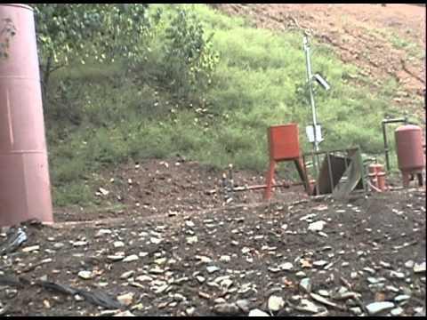 Vertical Marcellus Gas Well Venting Erosion Buckeye Creek Doddridge County WV Pt2