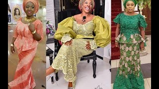 💚💚💚 Latest African Aso Ebi Styles 2019 : Classical African Print Collection