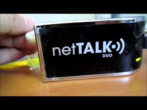 NetTalk DUO VOIP setup. tips. saves $$$$$$