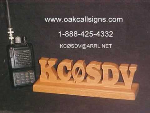 Amateur Radio Call Signs for Your Shack- Morse Code CW