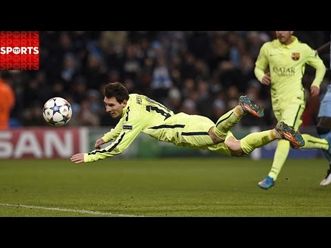 Suarez Scores Double LIONEL MESSI Misses Penalty [City 1-2 Barca]