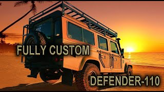 Land Rover Defender 110 fully cutomized