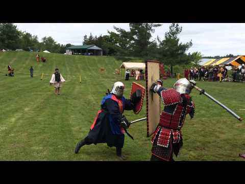 SCA Murder Melee XXXII - Barbarians Vs Samurai