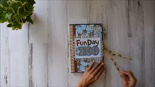 Double Waterfall Folio | We Bought the Zoo - Photo Play